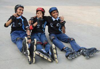 Skating Activity kids enjoying fin moments