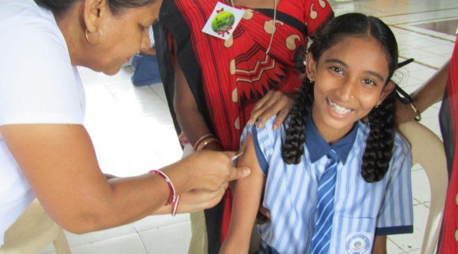 Saraswati Shishukunj school vaccination program