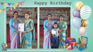 Birthday Celebration at School 1