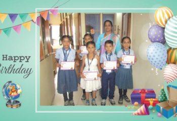 Birthday Celebration at School