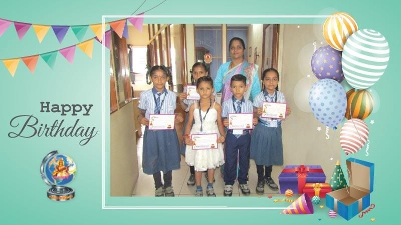 Birthday Celebration at School
