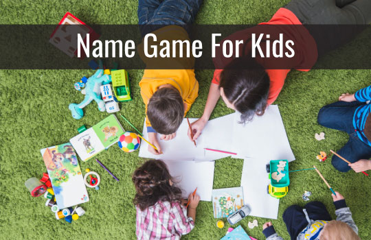 The Name Game for kids