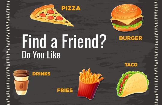 3. Find a friend: