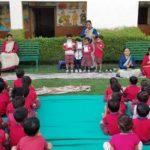 Students of Saraswati Shishukunj