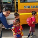 student of Saraswati Shishukunj