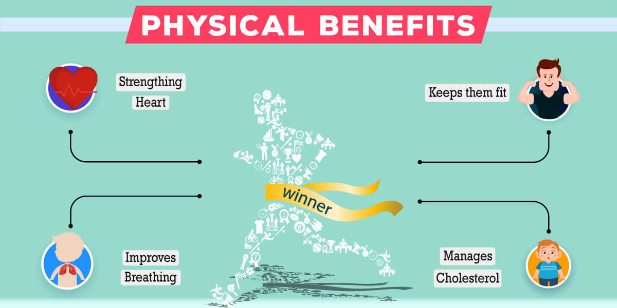 What are the physical benefits of integrating sports